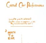 Carrot Chew Performance –Fluxus