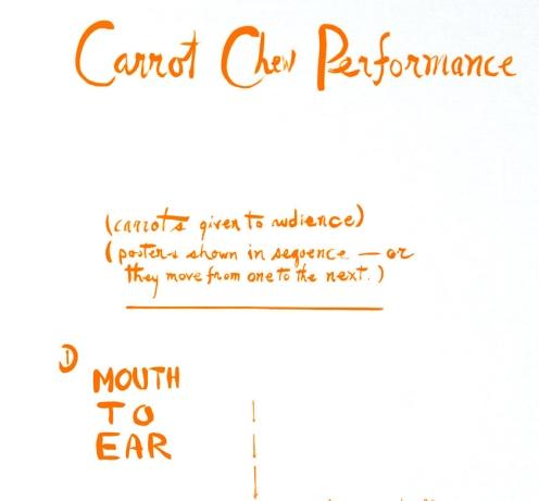 Carrot Chew Performance - Fluxus