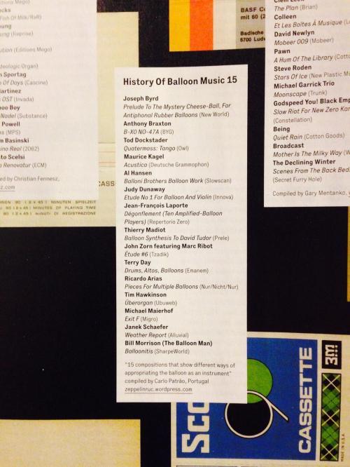 History of Balloon Music 15
