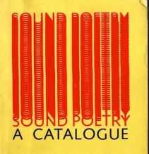 Sound Poetry: A Catalog