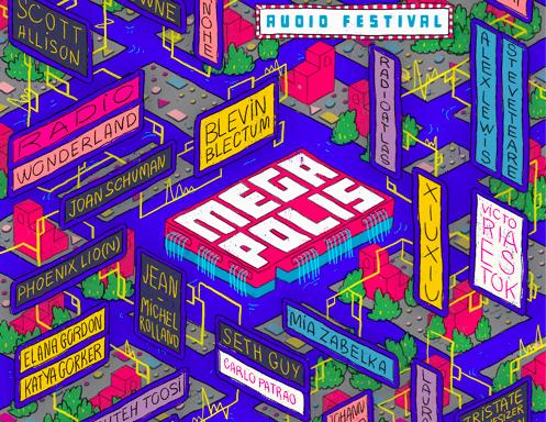Megapolis Audio Festival 2017 Poster Detail